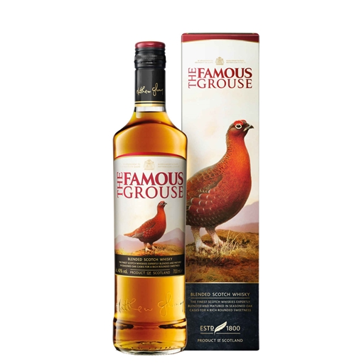 Whisky Finest Famous Grouse (garrafa 70 cl)