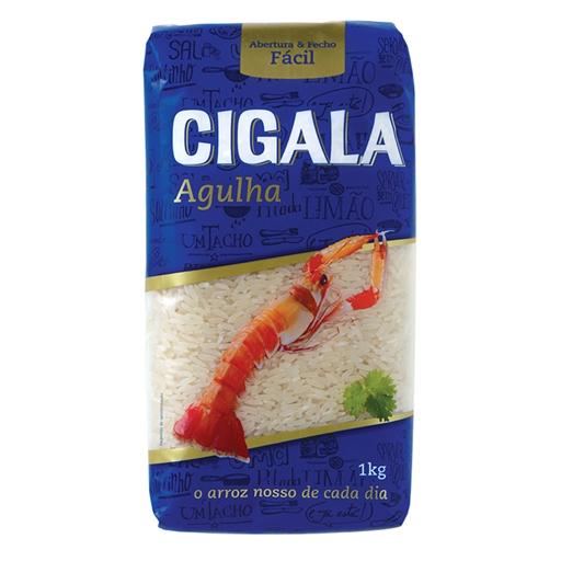 Arroz Agulha Extra Longo Cigala (emb. 1 kg)