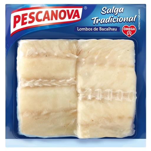 Lombos Bacalhau Atlântico Ultracongelados Pescanova (emb. 600 gr)
