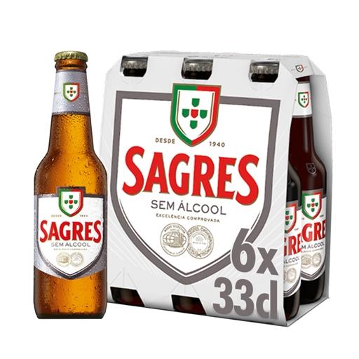 Sagres sem Álcool (emb. 6 x 33 cl)
