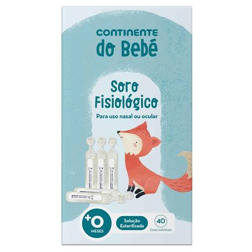 Soro Fisiológico Bebé Continente (40 doses)