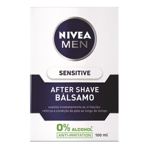 After Shave Bálsamo Sensitive For Men Nivea (emb. 100 ml)