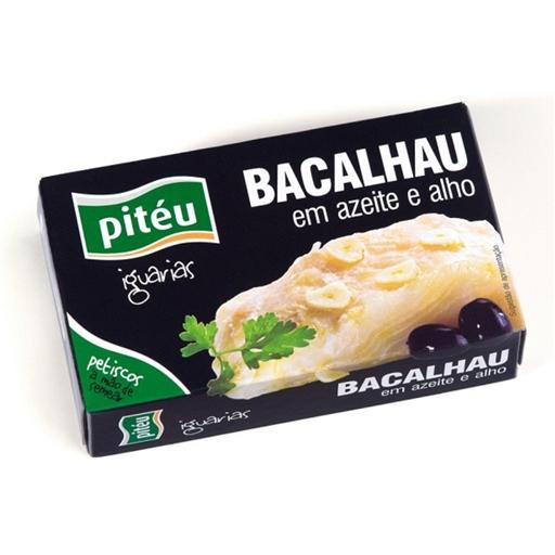 Bacalhau em Azeite Alho Piteu (emb. 120 gr)
