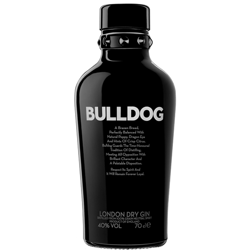 Gin London Dry Bulldog (garrafa 70 cl)