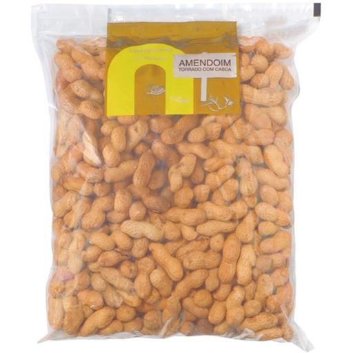 Amendoim com Casca Torrado Continente (emb. 330 gr)