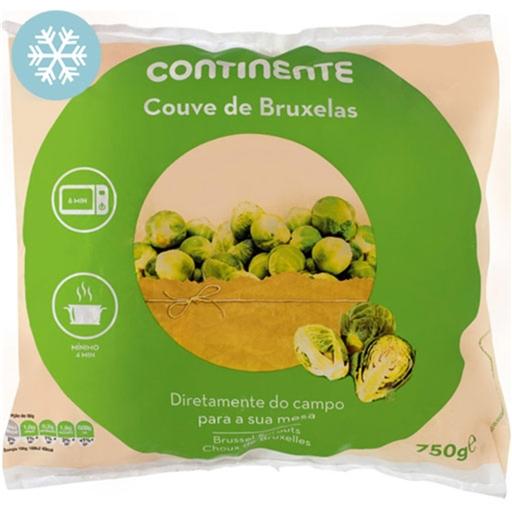 Couve de Bruxelas Continente (emb. 750 gr)