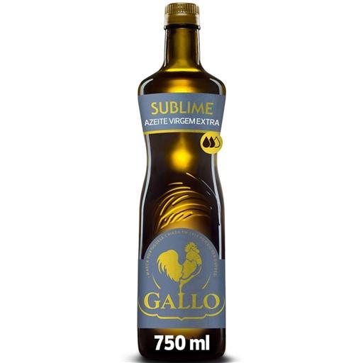 Azeite Extra Virgem Sublime Gallo (garrafa 75 cl)