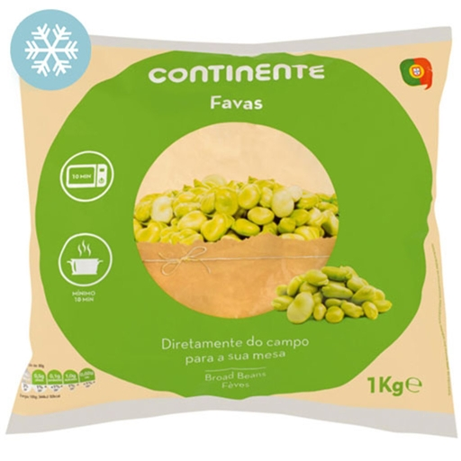 Favas Continente (emb. 1 kg)