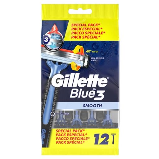 Lâminas Descartáveis Blue 3 Gillette (12 un)