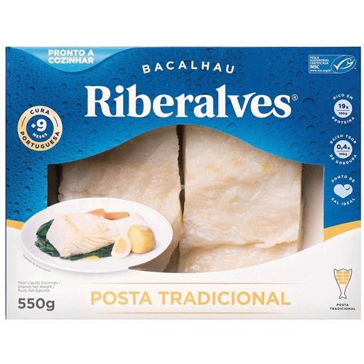 Bacalhau Posta Tradicional Riberalves (emb. 550 gr)