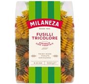 Massa Espirais Tricolores Fusilli