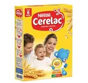 Papa Infantil Farinha Láctea +6 Meses