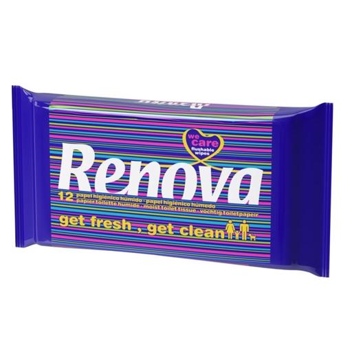 Humido higienico papel renova