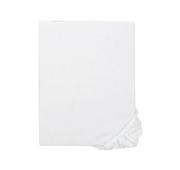 Lençol Capa 160 x 200 cm Branco Ácido