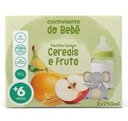 Farinha Láctea Cereais e Fruta