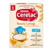Papa Infantil Láctea Banana Laranja +6 Meses