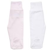 Conjunto 2 Calças Interiores em Algodão Branco / Rosa