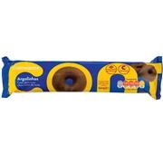 Bolachas Argolinhas com Cobertura Chocolate Leite