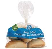 Pão Menos 50% Sal
