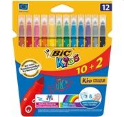 Marcadores BIC Colorir Kids 12un