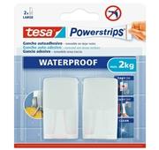 Powerstrips Waterproof, Gancho Branco + Tiras Waterproof