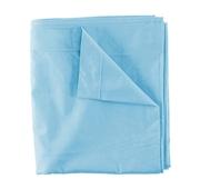 Lençol Individual Liso Azul Turquesa 100% Algodão 240 x 280 cm Kasa