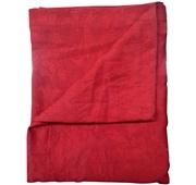 Toalha de Mesa 145x145 cm Vermelho Jacquard