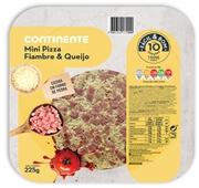 Pizzas Mini Fiambre e Queijo