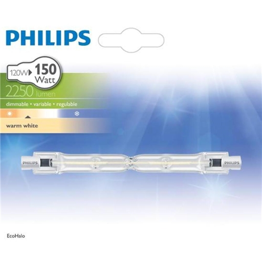 Lâmpada Halogeneo Linear 120W Branco Quente