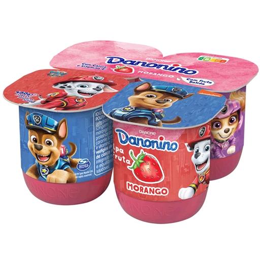 Iogurte Polpa Morango
