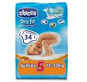 Fraldas Bebé Dry Fit Tamanho 5 13-18 kg