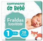 Fraldas Recém - Nascido Delicate Tamanho 1 2-5 kg
