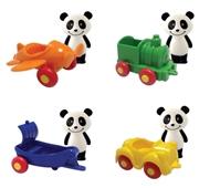 Mini Veículos com Figuras