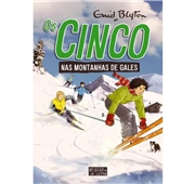 "Enid Blyton ""Os Cinco nas Montanhas de Gales"" Vol.  17"