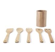 Conjunto 5 Utensilios Bambu