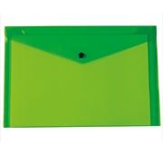 Classificador Envelope A4 c/ Mola Verde 180 microns