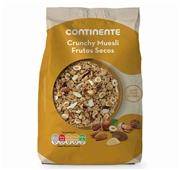 Cereais Muesli Crunchy Frutos Secos