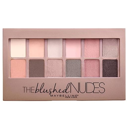 Conjunto de Sombras de Olhos The Blushed Nudes