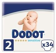 Fraldas Recém Nascido Sensitive Tamanho 2 4-8 kg