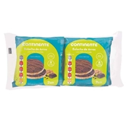 Bolachas de Arroz com 54% Chocolate