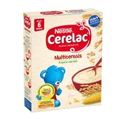 Papa infantil Não Láctea Multicereais +6 Meses