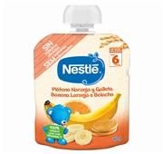 Fruta Para Bebé Banana Laranja Bolacha +6 Meses  Pacotinho