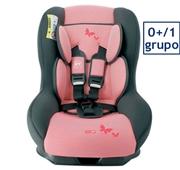 Cadeira Auto Grupo 0/1 Izzygo Plus Riscas Rosa