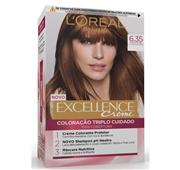 Coloração Permanente Excellence Creme Chocolate 6.35