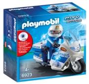 Playmobil City Action - Mota da Polícia com LED - 6923