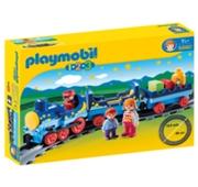 Playmobil 1.2.3 - Comboio com Linha Férrea - 6880