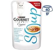 Comida Húmida para Gato Crystal Soup Atum com Camarões