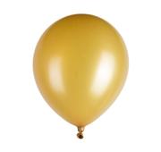 Conjunto 10 Balões Metalic Dourado