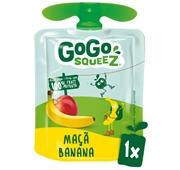 Saqueta de Fruta Maçã Banana