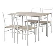 Conjunto Mesa e 4 Cadeiras Ref. Wood
